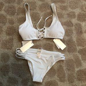 L*Space White Bikini